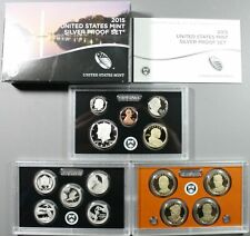 2015 United States Silver Proof Set