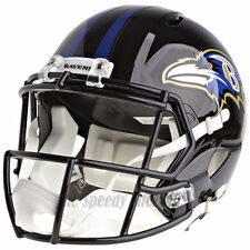 BALTIMORE RAVENS RIDDELL SPEED NFL FULL SIZE REPLICA FOOTBALL HELMET