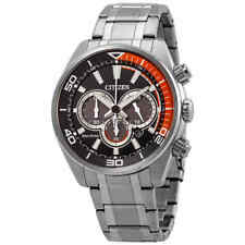 Citizen Chandler Eco-Drive Chronograph Black Dial Men's Watch CA4330-57E