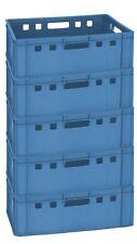 2 Pièce Bleu Fleischer caisses boucherie caisses Rangement Récipient e1 gastlando