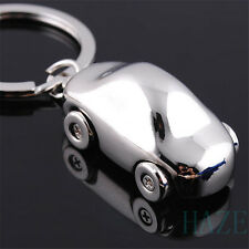 New 3D Metal Car Key Ring Bike Scooter Keychain Cute Creative Gift Keyring Silve
