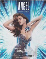 PUBLICITÉ PAPIER  -  ADVERTISING PAPER ANGEL THIERRY MUGLER N°3