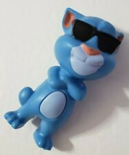MCDONALDS HAPPY MEAL TOY COOL TALKING TOM 2016 BLUE CAT #3 DOES NOT TALK BROKEN