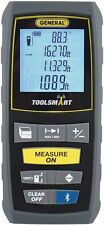 General Tools Ts01 100 Laser Measure Bluetooth Calculates Area Distance Volume