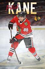 PATRICK KANE - CHICAGO BLACKHAWKS 2018 POSTER - 22x34 - NHL HOCKEY 16270