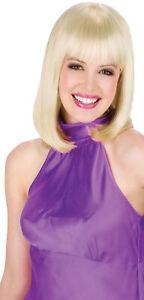 ADULT BLONDE CLASSIC BEAUTY BOB CUT WIG COSTUME DRESS ACCESSORY FW92011BD