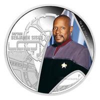 1 oz 2015 Star Trek Captain Benjamin Sisko Silver Proof Coin
