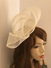 Fascinator Cream Ivory Hatinator Headband Wedding Hat Formal Ladies Headpiece