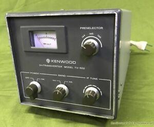 2m Transverter KENWOOD model TV-502
