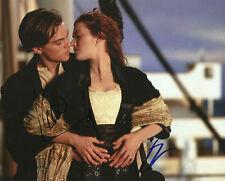 Leonardo DiCaprio & Kate Winslet Signed 10X8 Photo TITANIC AFTAL COA (5594)