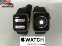 Apple Watch Series 3- 38MM-Rose Gold Sand Sport Band (GPS + Cellular)  Test Good