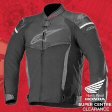 Alpinestars Motorcycle Sports SP X Leather Textile Jacket - Black Black 56
