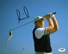 ANNIKA SORENSTAM SIGNED AUTOGRAPHED 8x10 PHOTO LPGA GOLF LEGEND PSA/DNA