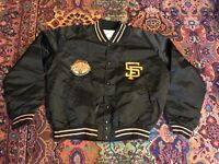 Rare Pyramid San Francisco Giants Satin Jacket Men's Xl 1984 All Star Game