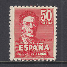 Spain Sc C124 MNH. 1947 50p Ignacio Zuloaga, top value to set, fresh & F-VF