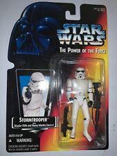 "1995 Star Wars POTF Stormtrooper Blaster Rifle Action Figure 3 3/4"" Power Force"
