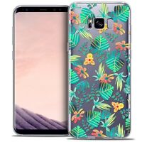 Coque Crystal Gel Pour Samsung Galaxy S8 (G950) Extra Fine Souple Spring Tropica