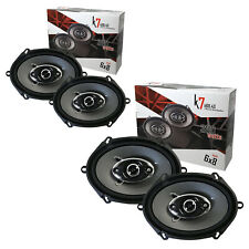 "4x Audiotek K7 720W 6"" x 8"" 5"" x 7""4-Way Car Audio Coaxial Speaker 6x8"
