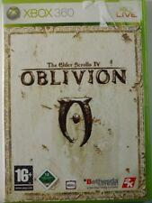 !!! Xbox 360 juego The Elder Scrolls Oblivion con tarjeta, usado pero bien!!!