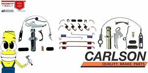 Complete Rear Brake Drum Hardware Kit for Ford F250 80-98 equipped w/ 3 in shoes