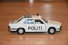 !! BMW 528i POLITI (Polizei Dänemark) 1:43 GAMA 1149, ohne OVP, guter Zusatand!!