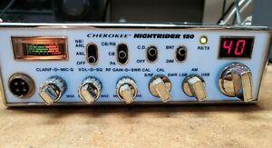 CHEROKEE NIGHTRIDER 150 NR-150 *NO RESERVE!* CB radio.