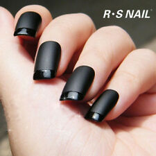 RS Nail Top Coat Matte Effect Gel Nail Polish Top it Off Soak Off UV LED Salon