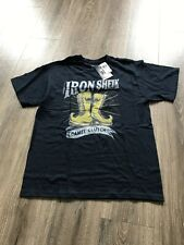 WWE Iron Sheik Toronto Summerslam Foot Locker Shirt Large WWF RARE