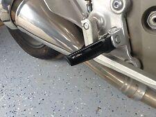 TUNING ALUMINIUM FUSSRASTEN RASTEN vorn Yamaha TDM850 TDM 850 BLACK NEW OVP