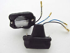 85 - 98 FORD COURIER MAZDA BRAVO B2000 B2200 B2600 PAIR REAR LICENSE PLATE LIGHT