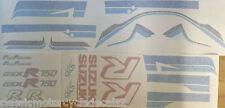SUZUKI GSXR750G GSX-R750G RESTORATION DECAL SET 1986