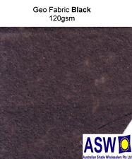 1m x 50m GEO FABRIC 120gsm Geo Textile Geofabric Erosion Drainage Filter