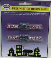Model Power  Peel'N Stick Lights 4pcs MPC510-W