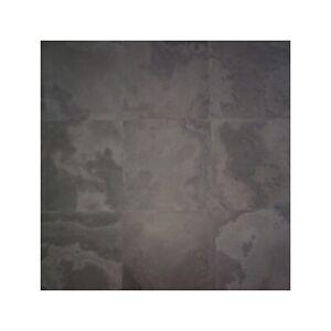 REAL SLATE Brazilian Grey Honed Floor Wall Tiles 300x300x10mm £12.95 Per m2