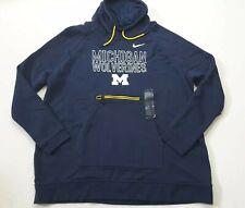 Nike Women's NCAA Michigan Wolverines Funnel Neck Sweatshirt Size L