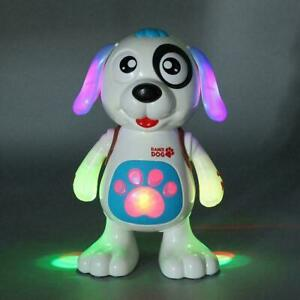 Electric Music Singing Dancing Dog Interactive Educational Toys For Kids Q3O2