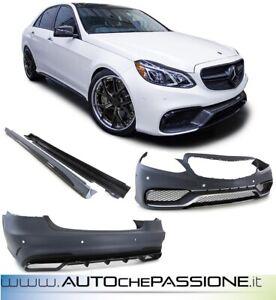 Kit paraurti in AMG SPORT E63 Mercedes W212 berlina 13>16 solo 1 DISPONIBILE!!!