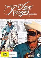 Lone Ranger : Season 3-4 (DVD, 2014, 12-Disc Set)  LIKE NEW REGION 4