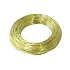 50' 20 Gauge Brass Hobby Wire 50151