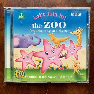 The Zoo Favourite Songs Et Comptines CD Elc Early Penchée Cenre École Maternelle