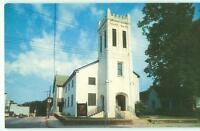 Marietta Georgia GA St James Episcopal Church & Road 1950s Chrome Postcard 24879