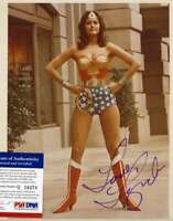 Lynda Carter PSA DNA Coa Signed 8x10 Wonder Woman Photo Autograph