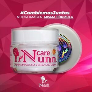NUNN CARE CREMA LIMPIADORA 100% ORIGINAL ELIMINA ACNE,MANCHAS,PAÑO!
