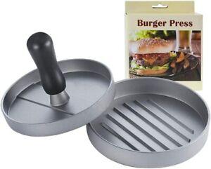 Non-Stick Hamburger Press Burger Meat Grill Patty Maker Mold Kitchen BBQ Tool US
