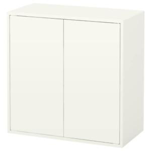 IKEA Eket Cabinet w/2 Doors & Shelf White 27 1/2x13 3/4x27 1/2 203.339.51