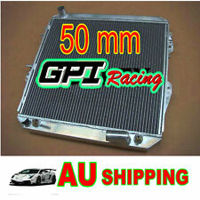 50mm TOYOTA SURF HILUX 2.4 2.0 LN130 all aluminum Radiator with oil cooler AT/MT