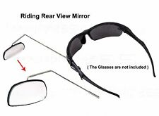 Adjustable Bike Cycling Safety Rear View Mirror For Riding Used With Sunglasses