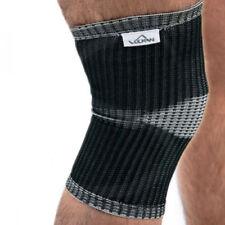 Fasciature e supporti neri di elastane per palestra, fitness, corsa e yoga