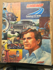 1982 Champ Catalog Automotive Accessories Antenna Engine Cable Tools Parts