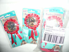 WHOLESALE LOT OF 144 NEW PARTY BAG FAVOUR/FILLERS.CHARLEY BEAR CONFETTI  BADGES
